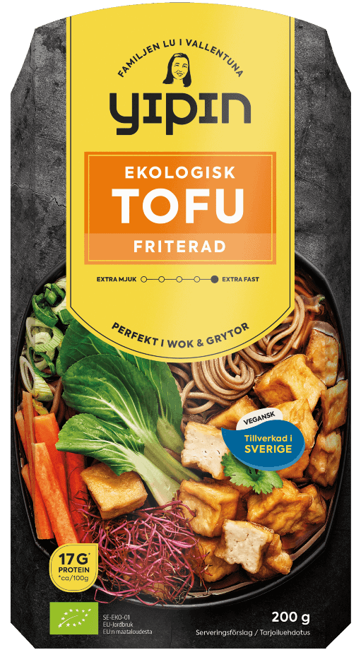 yipin tofu friterad ekologisk 200g